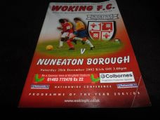Woking v Nuneaton Borough, 2002/03